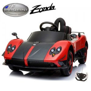 12v Official Red Pagani Zonda Kids Car with Remote