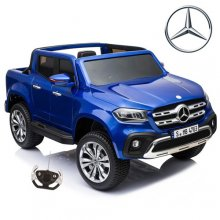 Kids 12v Official Blue Mercedes X-Class Ride On Jeep