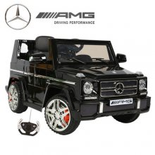 Black Mercedes AMG G65 G-Wagon Child's 12v SUV