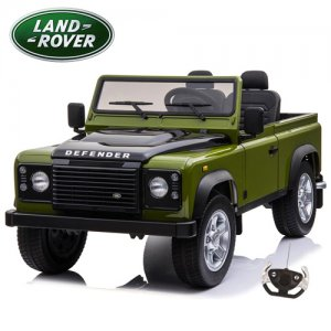 Top Spec 24v EVA Tyre 4WD Green 2 Seat Land Rover Defender