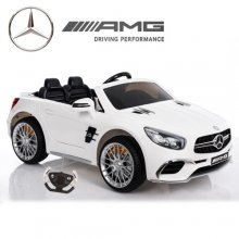 White 12v Mercedes SL65 Licensed Kids Electric Car