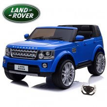 Two Seat Kids Land Rover Discovery 12v Blue Jeep with Remote