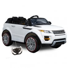 Evoque XL Style 12v 4x4 Suspension Jeep with Remote and Stroller