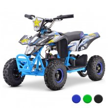 Teenage Compact 24v Sports High Powered Battery Quad Bike