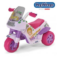 Peg Perego 6V Girls Pink Mini Scrambler Bike