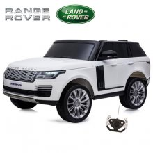Kids 24v White Licensed Range Rover Vogue HSE 2 Seat EVA Jeep