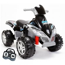 12v Mega Ride-On Quad Bike With Remote Controls