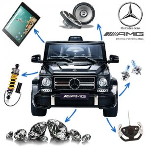 Ultimate Mercedes G63 12v Premium Edition Kids Car