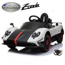 12v Licensed White Pagani Zonda F Kids Ride On Super Car