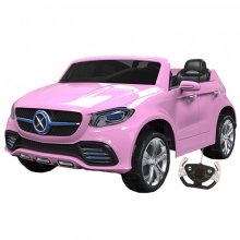 Pink 24v Large Two Seater Electric Jeep with Remote