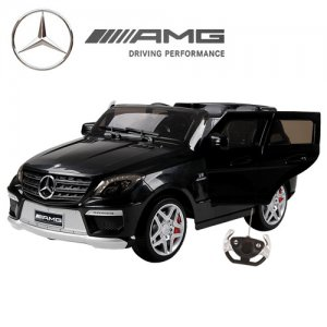 Official Mercedes ML63 Black Edition 12v Jeep