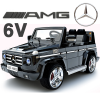 Official Mercedes G55 6v Kids Jeep with Parental Remote