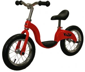 Red & Black Kids Balance Bike