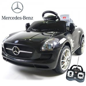 Licensed Mercedes 6v Convertible Ride On Car with MP3