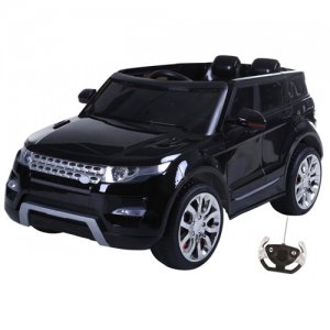 Black 12v HSE Rangie Premium Large Battery Powered Jeep