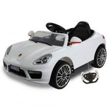 12v Ride on Boxster Convertible Style Car with Stroller