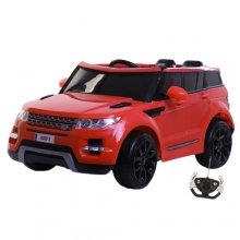 Kids Red 12v Electric Ride On Jeep with Doors