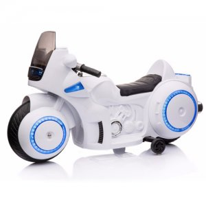 12v Tron Style Light Up Kids Concept Ride On Motorbike