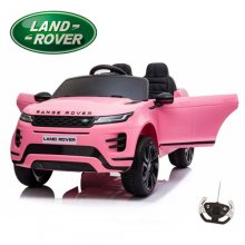 Girls Pink 12V Official 2 Seat Range Rover Evoque Ride On Car