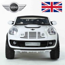 12V 2 Seat Licensed Mini Cooper Beachcomber Ride-Car with Remote