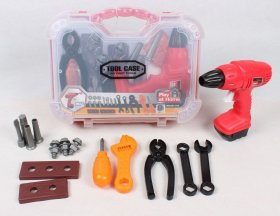 Kids Electric Cars Pretend Play Garage Tool Kit