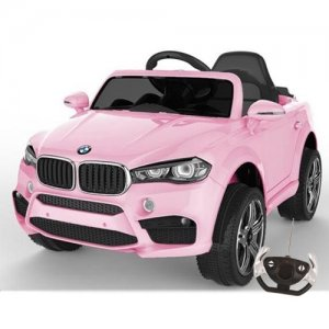 Kids BMW X5 Style 4x4 Pink 12v Jeep with Remote