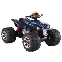 12v Big Wheeled Ride-on Battery Powered ATV Quad Bike