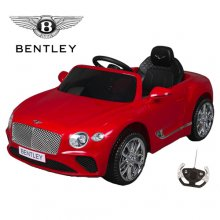 12V Red Licensed Bentley Continental GT Compact Toddlers Ride On