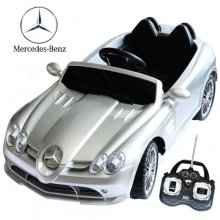 Licensed Mercedes SLR Kids 12v Sports Car with Remote