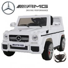 Official Mercedes AMG G65 12v SUV with Leather Seat