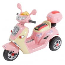 Mini Mod Kids Cute 6v Ride On Moped