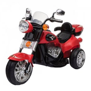 Kids 6v Harley Style Touring Trike with Storage Box