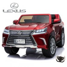 Red 12v Licensed Lexus Two Seater Kids Ride On Jeep