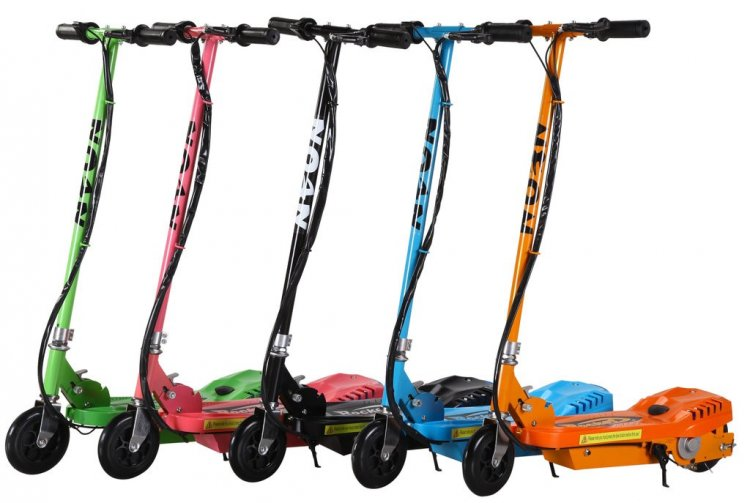 Neon Rocket 24v Ultimate Kids Electric Scooter - Click Image to Close