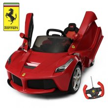 Kids Licensed Ferrari 12v LaFerrari Ride On Supercar
