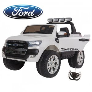 Limited Edition 24v Ice White Ford Ranger Kids 2 Seat Jeep