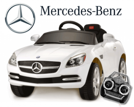 Licensed 6v Mercedes SLK 350 Ride-on Car with Remote