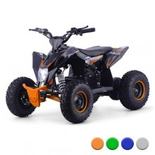 2021 36v Full Suspension 1000w Kids Off Road Black Quad Bike