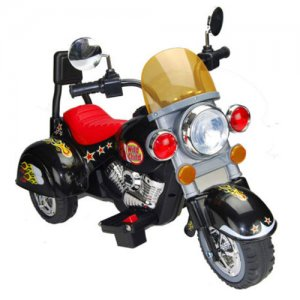Rock Style 6v Kids Harley Ride-On Motorbike