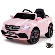 Kids Pink 12v Mercedes GLC Style SUV with Parental Remote