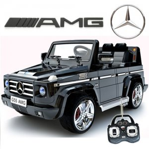 Licensed Black Mercedes AMG G55 G-Wagon Luxury 12v Jeep