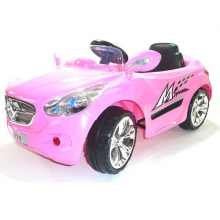 Pink 12v Mercedes Style Ride-on Car for Girls
