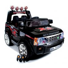 Black 12v Range Rover Sport Style Ride-on Jeep