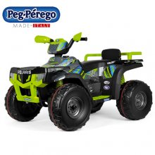Peg Perego Large Green 24v Premium Polaris Quad Bike