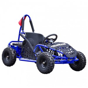 Blue 48v Battery Powered Older Kids Rugged 1000W Kids Mud Kart