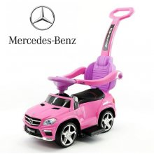 Licensed Pink Mercedes GL63 Kids Stroller Sit On Car
