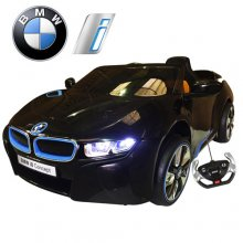 Limited Edition Black Official BMW I8 Series 12v Car with Remote