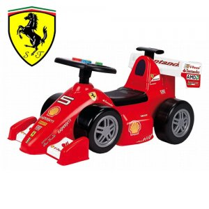 Ferrari Racing Toddlers Foot to Floor Ride On Car