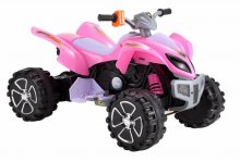 Mega Pink 12v Electric Quad Bike for Kids