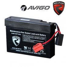 [6v] 6 Volt 7ah Rollplay Avigo Rechargeable Ride On Toy Battery